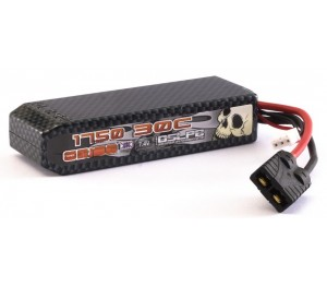Lipo Carbon XX 1750-30C 7.4v TRX Orion