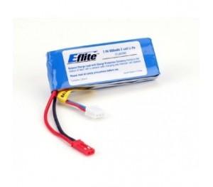 Batterie LiPo 2S 800mAh E-FLITE