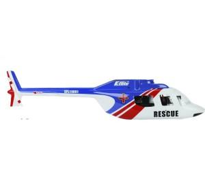 Carrosserie Jet Ranger Bleu/Rouge BCX/2/3