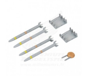 Set d'armes et missiles BCX/2/3