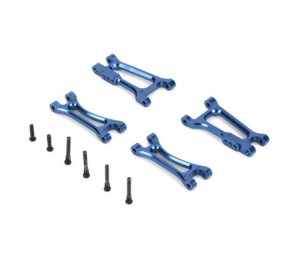 Set triangles arrière en aluminium 4WD Micro/ Rally Losi