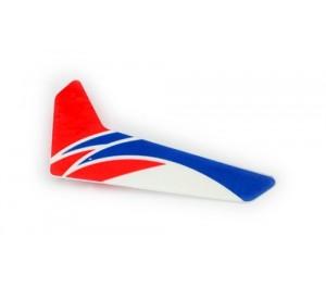 Dérive verticale rouge Blade mCP X E-Flite