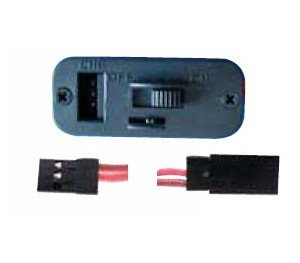 Interrupteur JR/Hitec/Multiplex monobloc