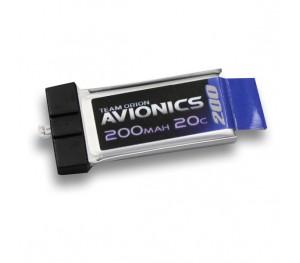 Micro lipo Avionics 3.7v  200mAh