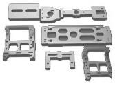 Chassis principal HM 52/ Micro héli 3D
