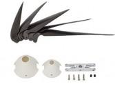 Hélices pales repliables 9,8x5 avec cône Ø 32 et 40mm