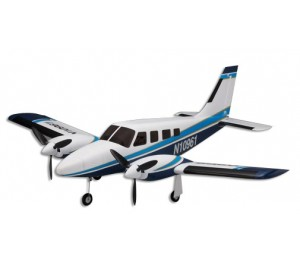 AIRIUM PIPER PA34 VE29 TWIN PIP SET - BLEU